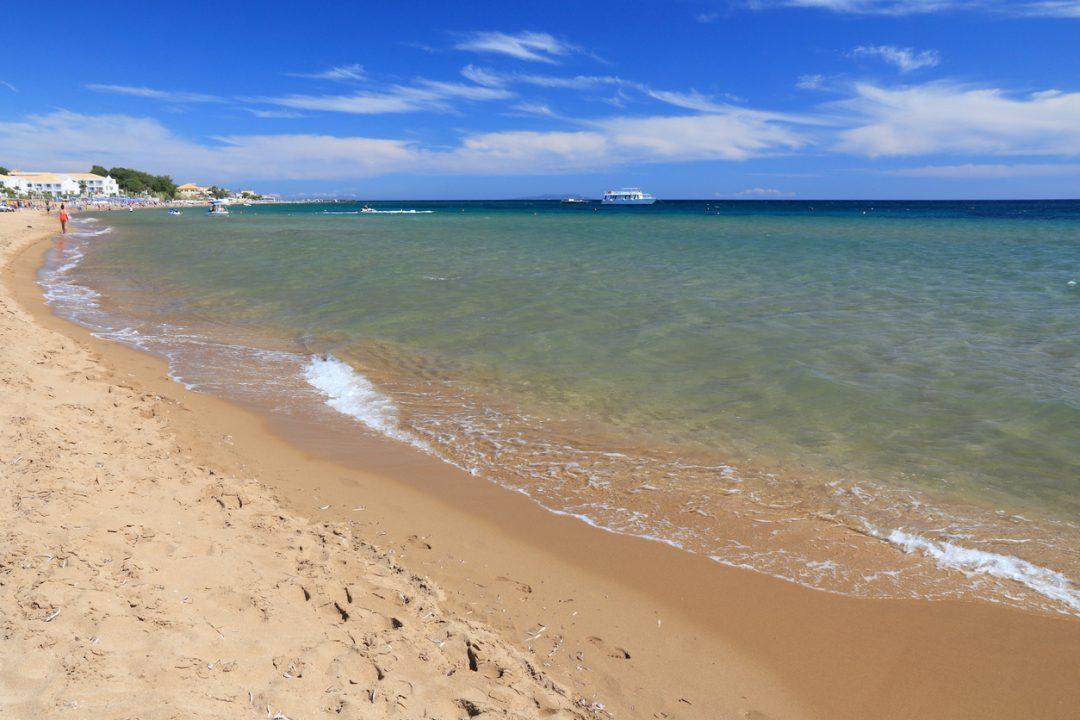 spiagge Corfù Issos