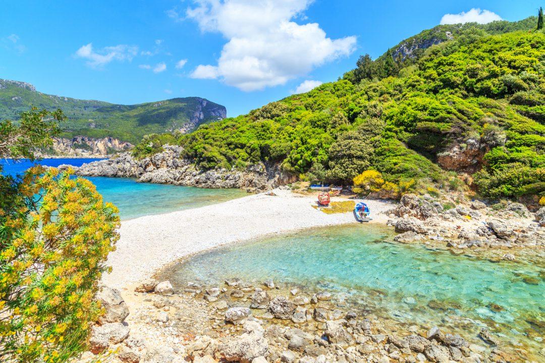 spiagge Corfù Limni