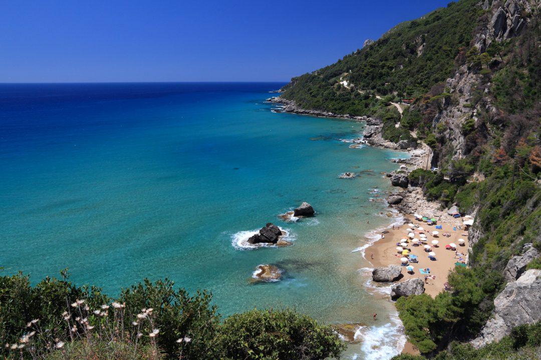 Spiagge Corfu Myrtiotissa