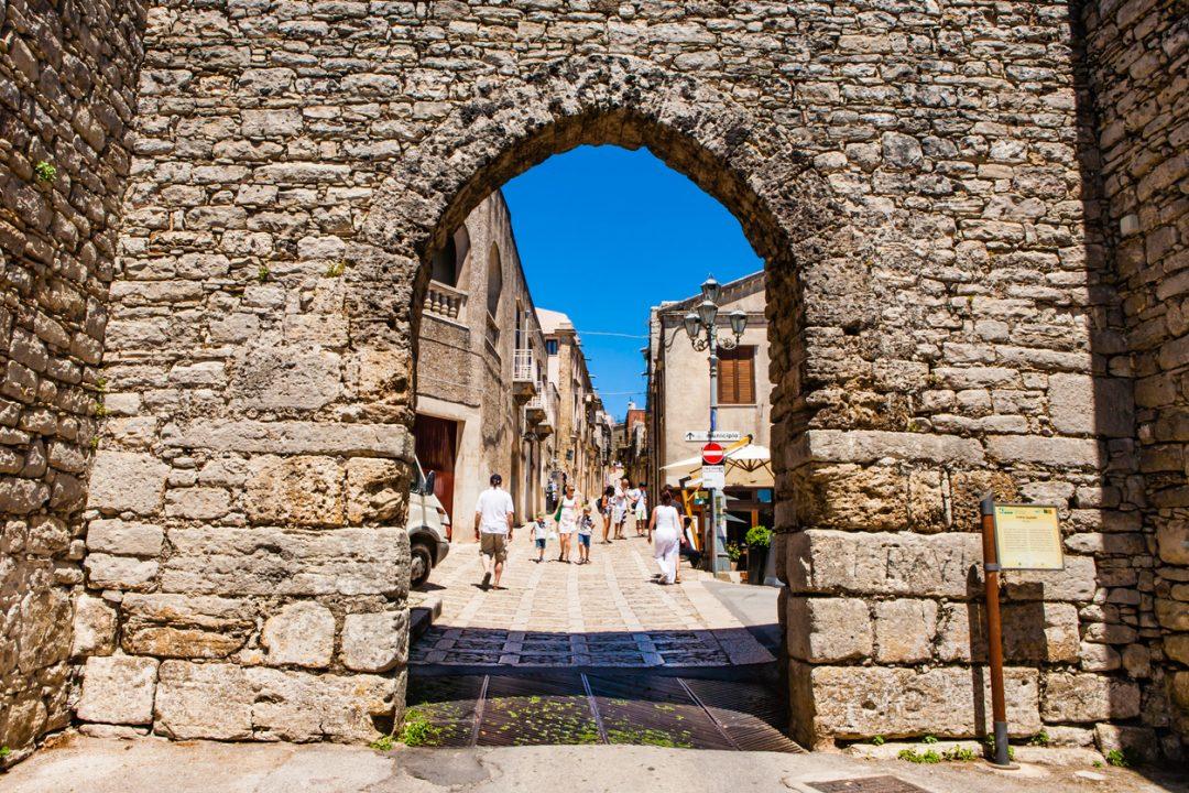 Porta Trapani, Erice, Sicilia