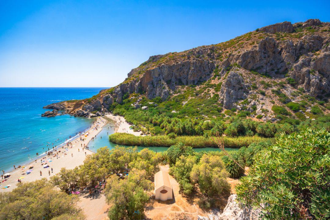 spiagge Creta Preveli