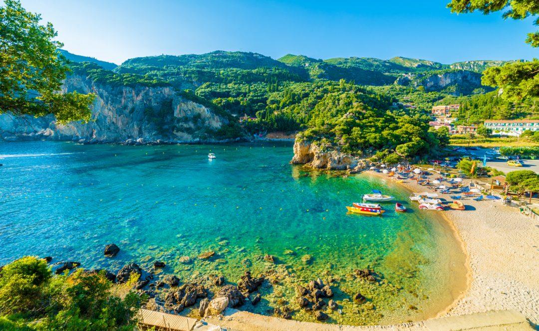 spiagge Corfù Paleokastritsa