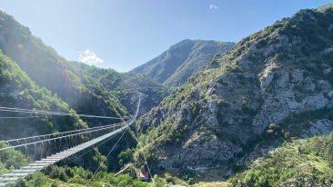 ponte tibetano più lungo del mondo