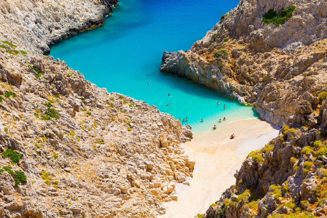 Spiagge Creta Seitan Limania