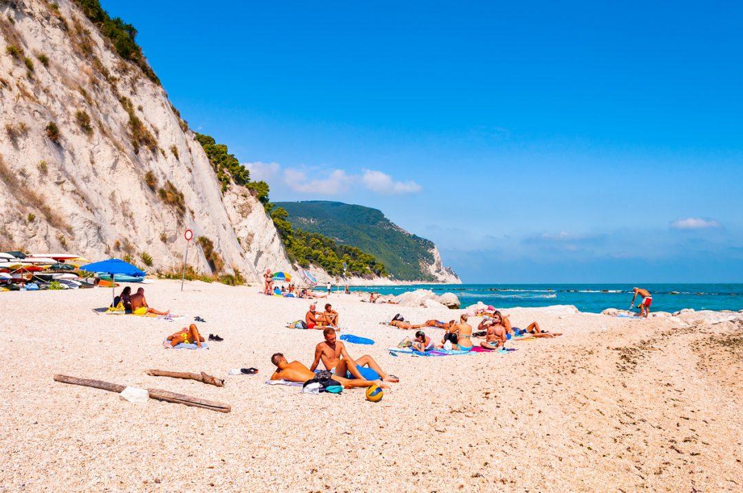 spiagge Numana Conero