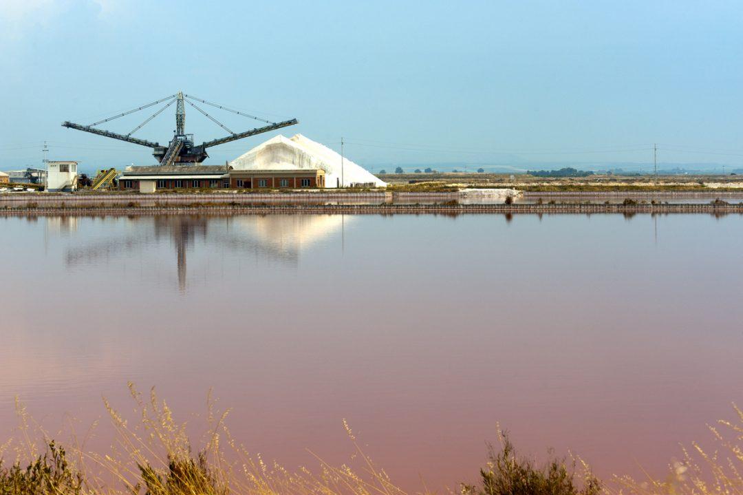Le saline rosa di Margherita di Savoia