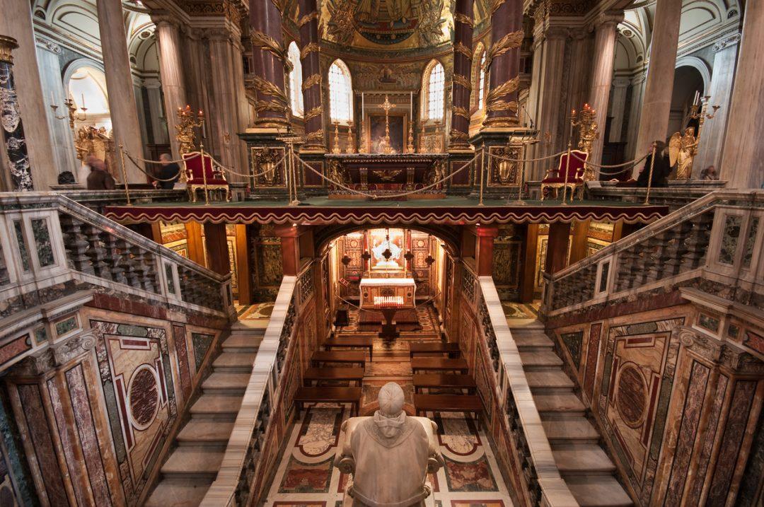 La Basilica di Santa Maria Maggiore e il miracolo della nevicata (Roma)
