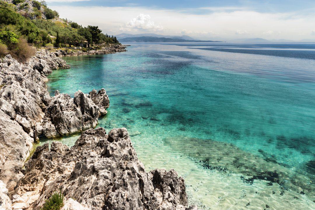 spiagge Corfù Nissaki