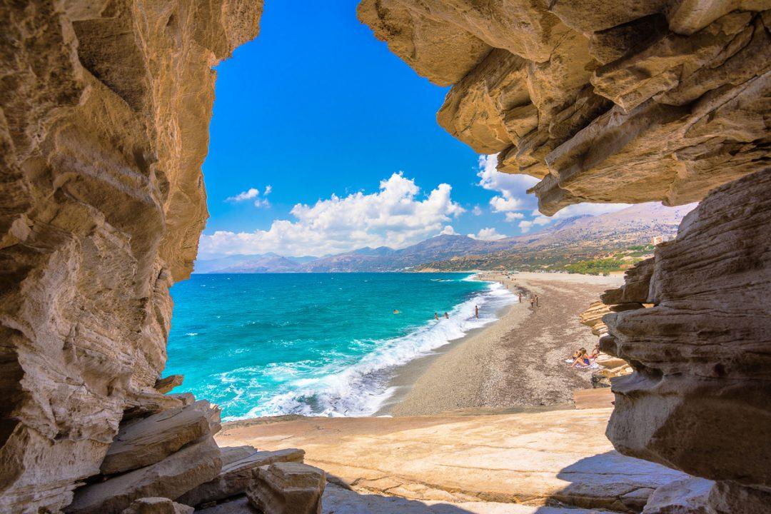 spiagge Creta Triopetra