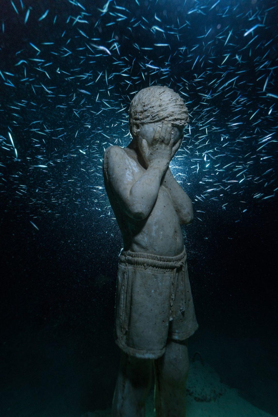 A Cipro apre Musan, il primo museo sottomarino di Jason deCaires Taylor