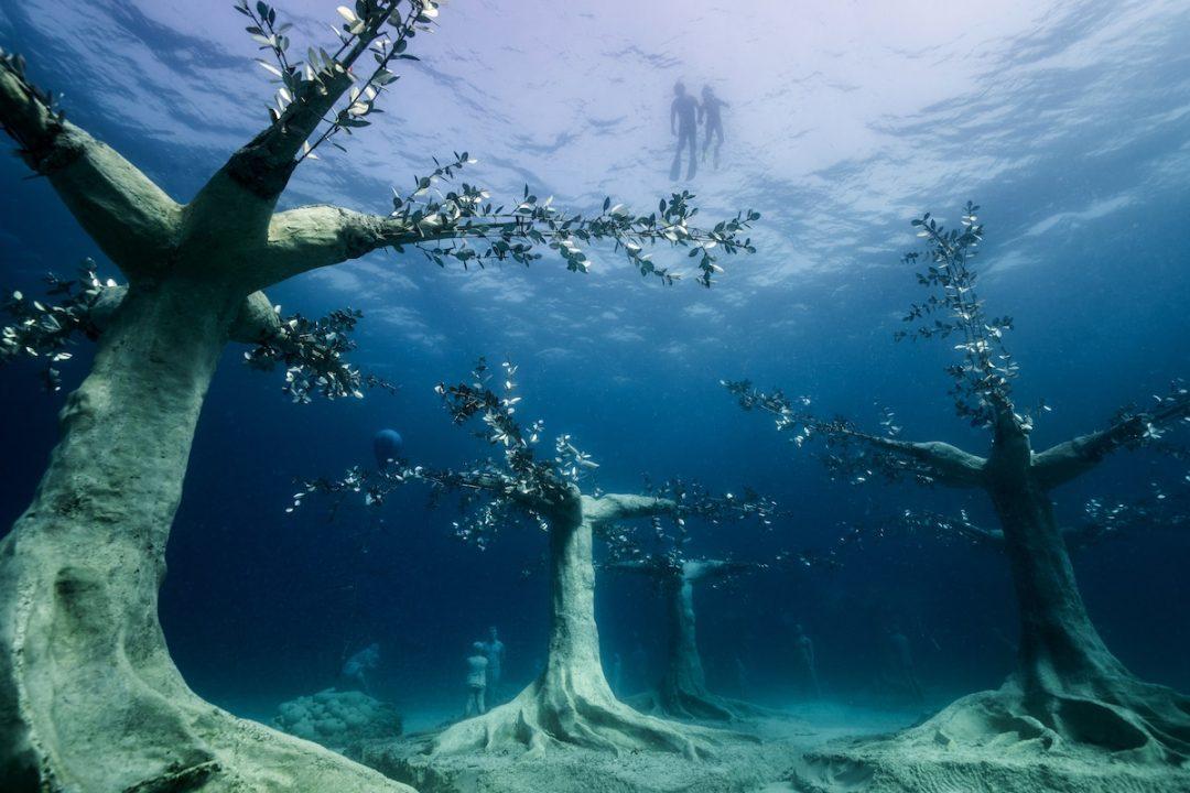 Museo sottomarino cipro Jason deCaires Taylor