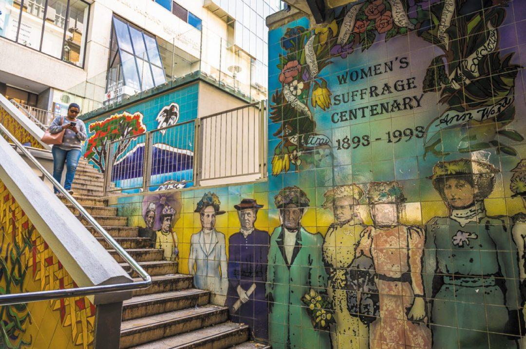 I murales ad Auckland