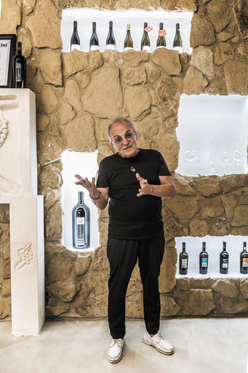 Gianfranco Ulisse, cinquant'anni di vini (e bici)