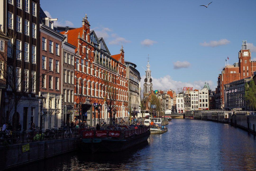 Canale Singel, Amsterdam