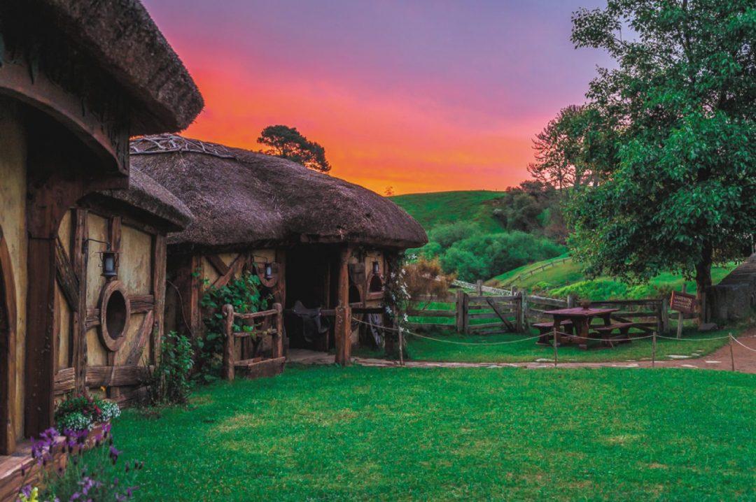 Il villaggio degli Hobbit