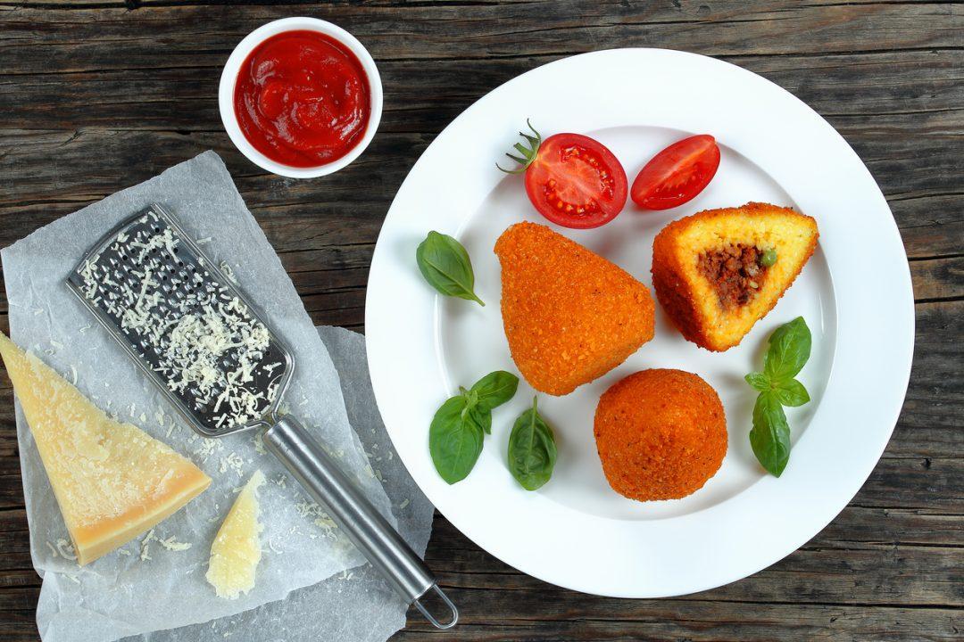 L'origine degli arancini siciliani