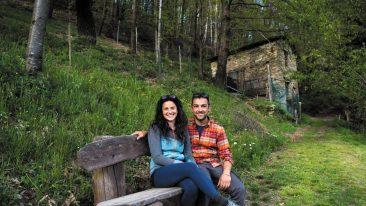 cambio vita in valle pesio: la storia de iduevagamondi
