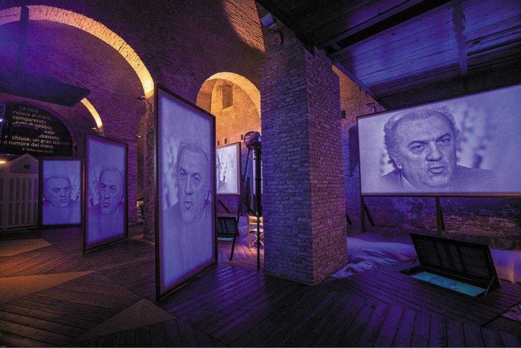 Apre il Fellini Museum a Rimini: gli allestimenti nella Rocca Malatestiana