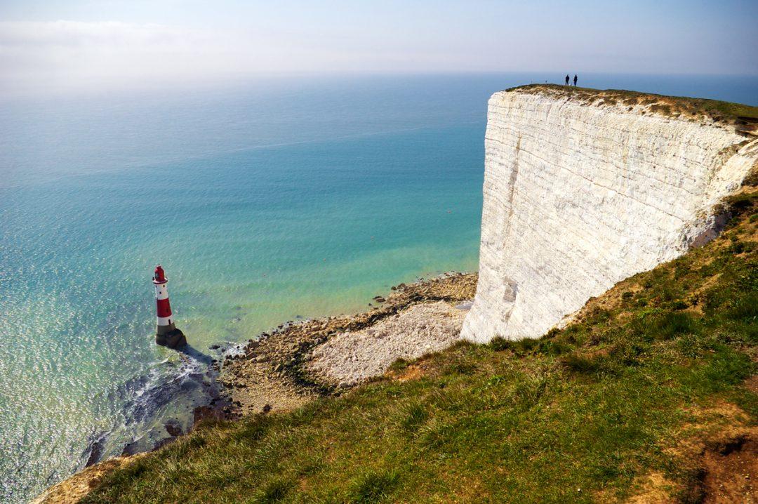 Scogliere Dover composizione roccia
