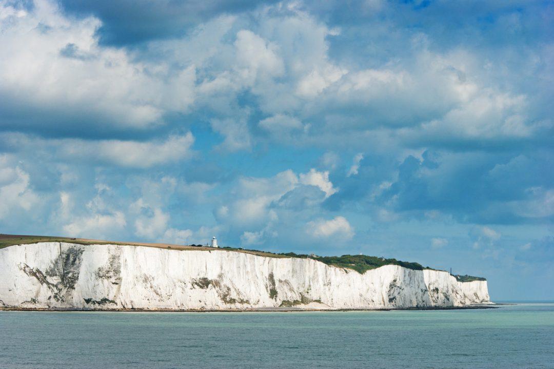 Le scogliere di Dover simbolo inglese