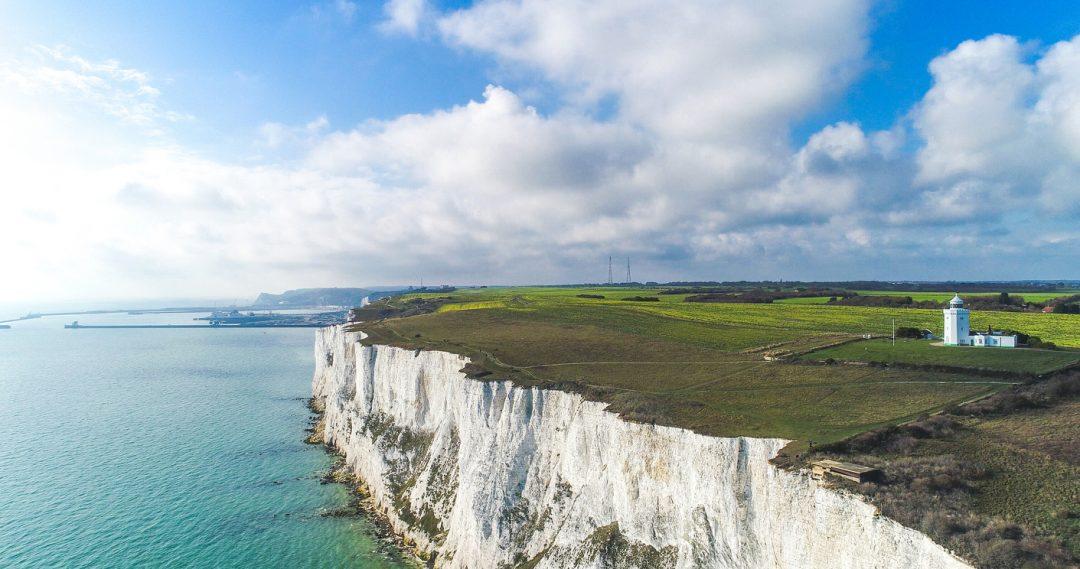 scogliere di Dover  paesaggio