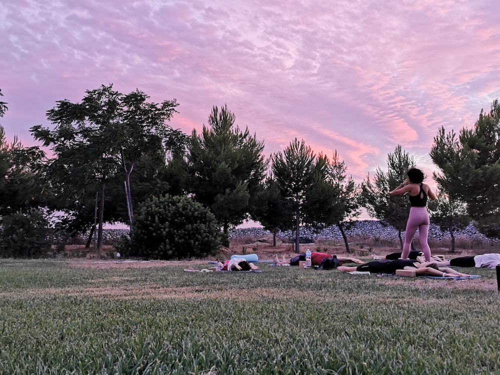 Yoga e mindfulness a Ostuni, in Salento