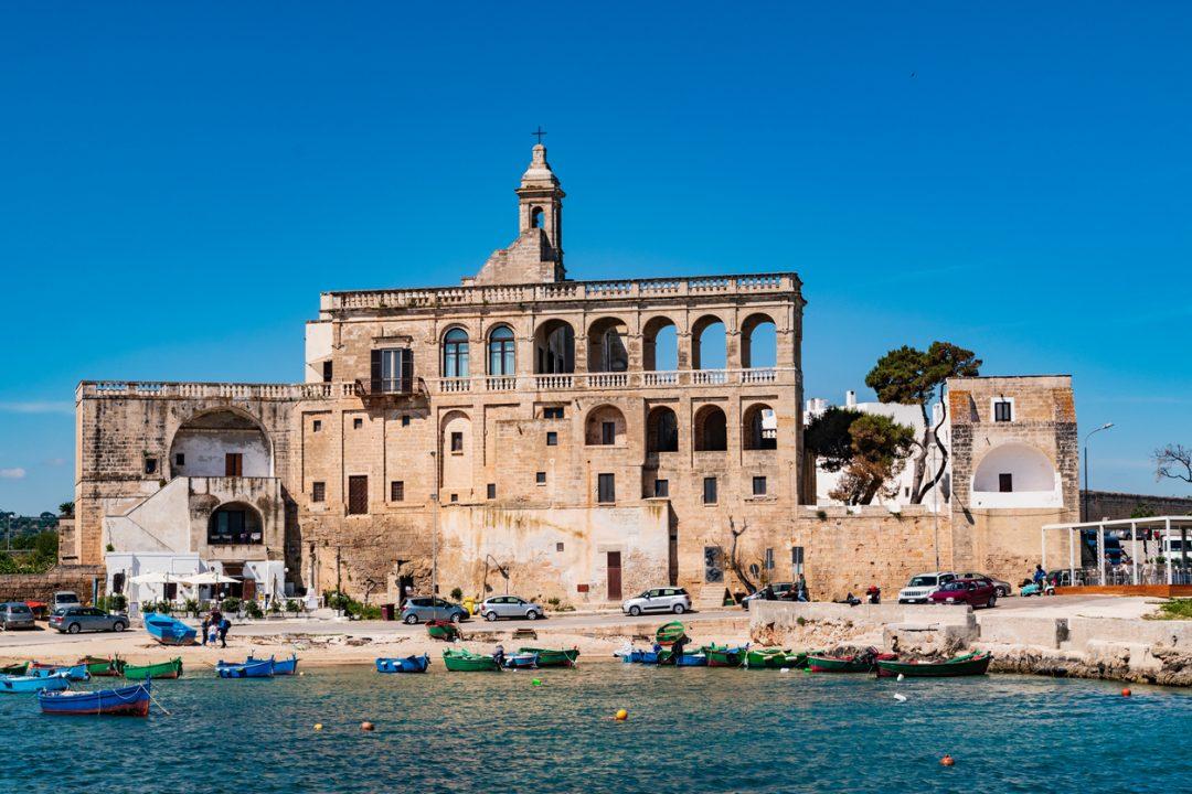 Polignano a Mare: l'Abbazia di San Vito