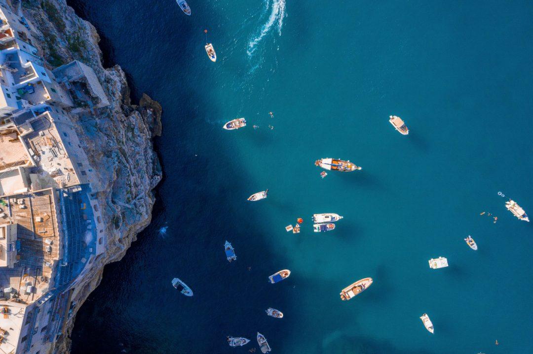 Polignano a Mare: le grotte e le calette