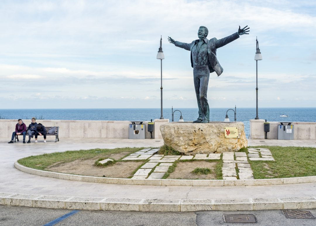 Polignano a Mare: Domenico Modugno
