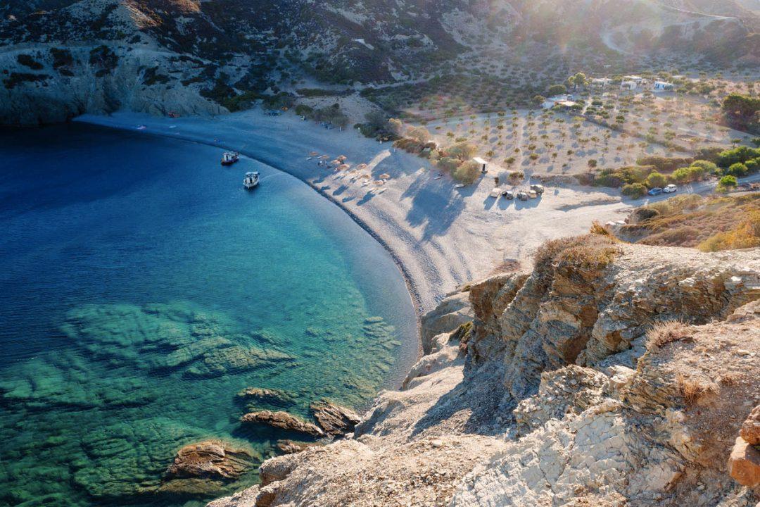La spiaggia di Saint Minas