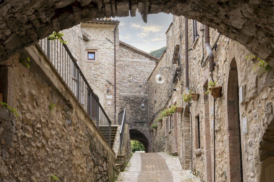 Il borgo medievale di Scheggino