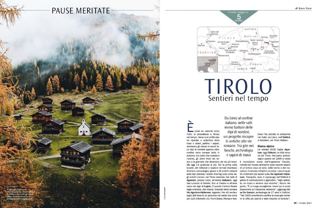 Tirolo, una pausa meritata