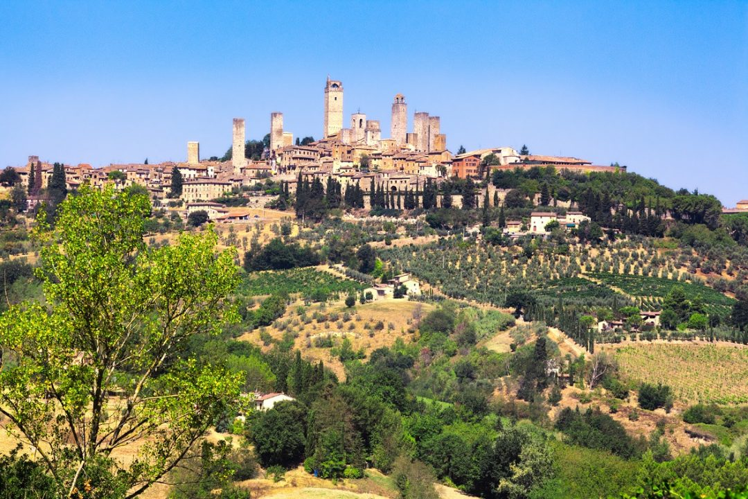 San Gimignano, Siena (Toscana)