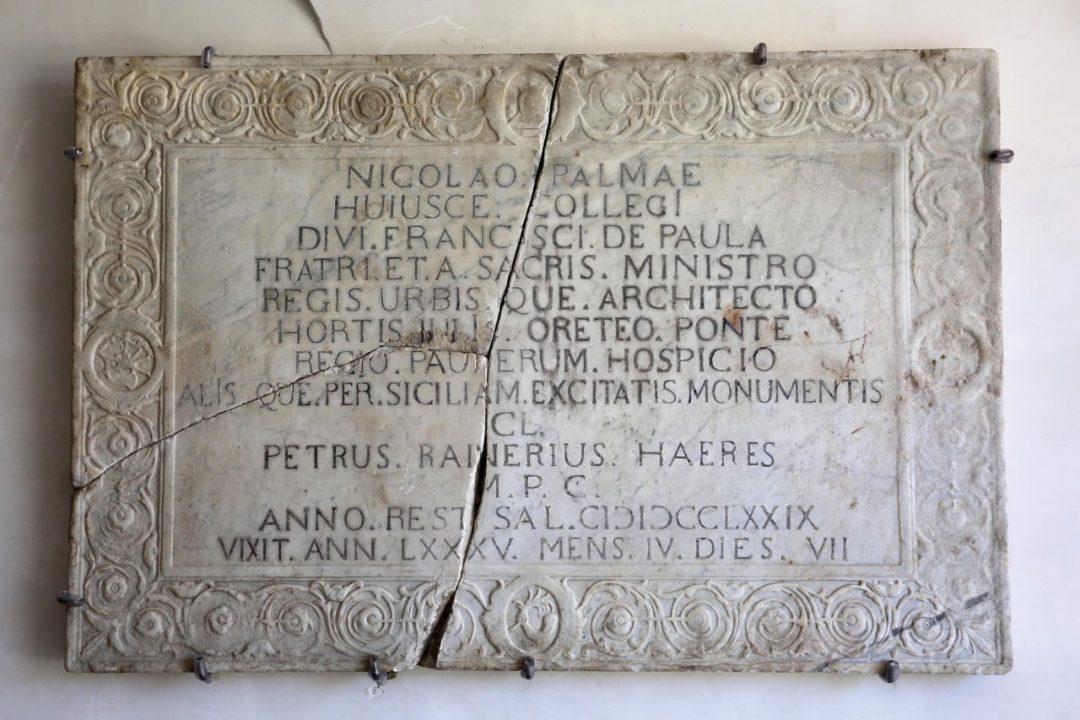 Raccolta lapidea di Palazzo Ajutamicristo, palermo