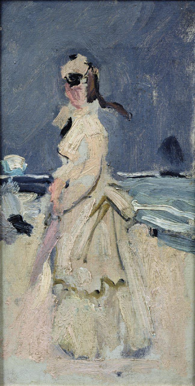 Camille sulla spiaggia (1870)