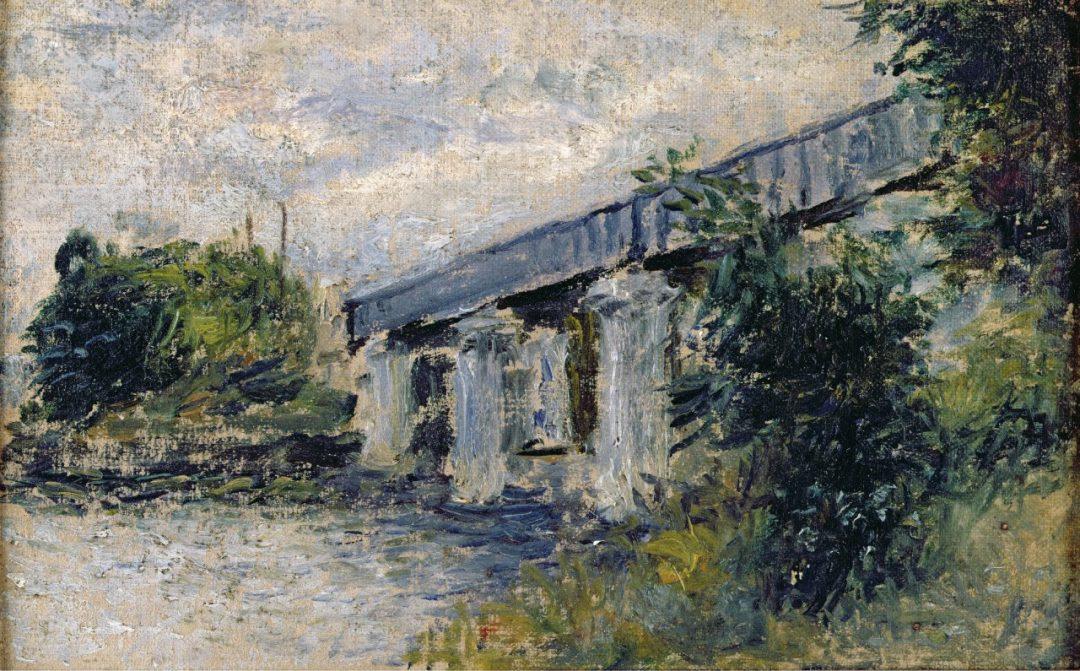 Il ponte ferroviario di Argenteuil (1874)