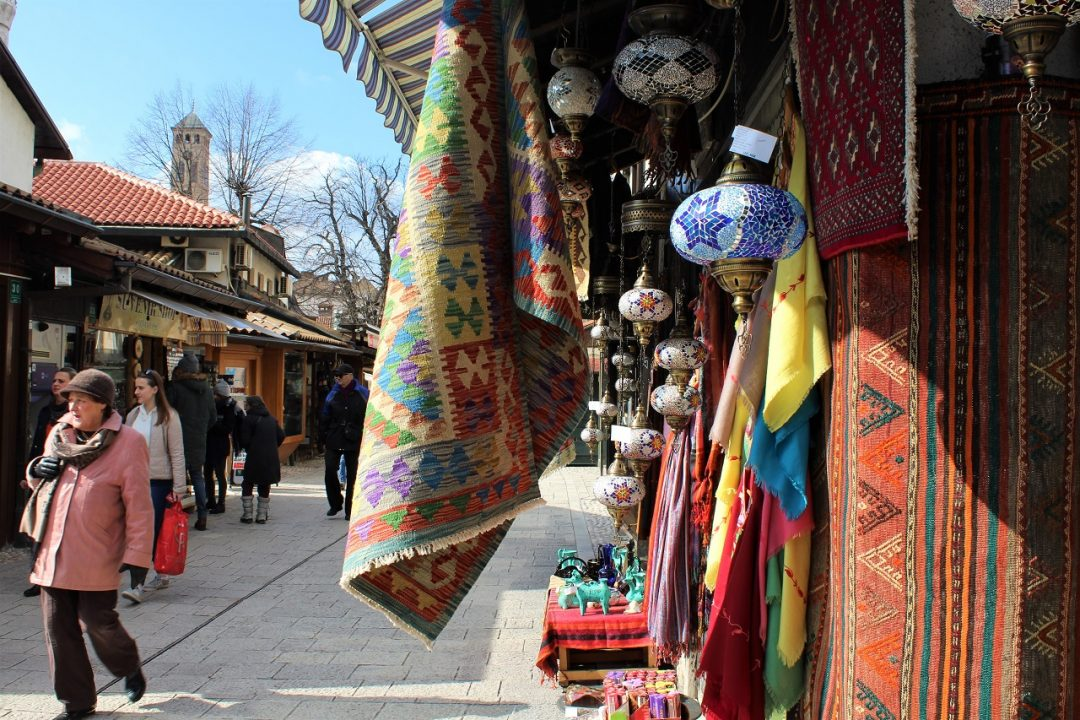 Baščaršija, anima ottomana