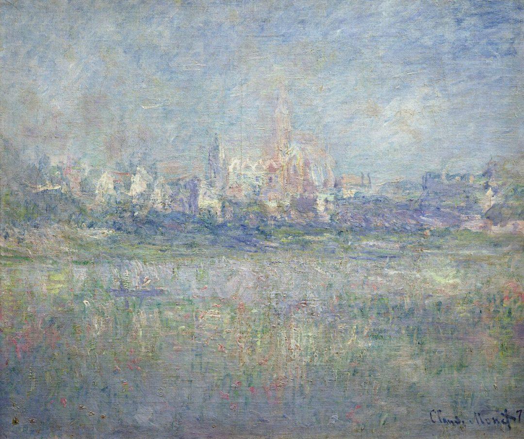 Vétheuil nella nebbia (1879)