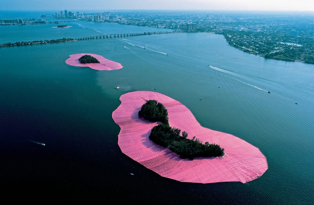 Christo and Jeanne-Claude, Surrounded Islands, Miami