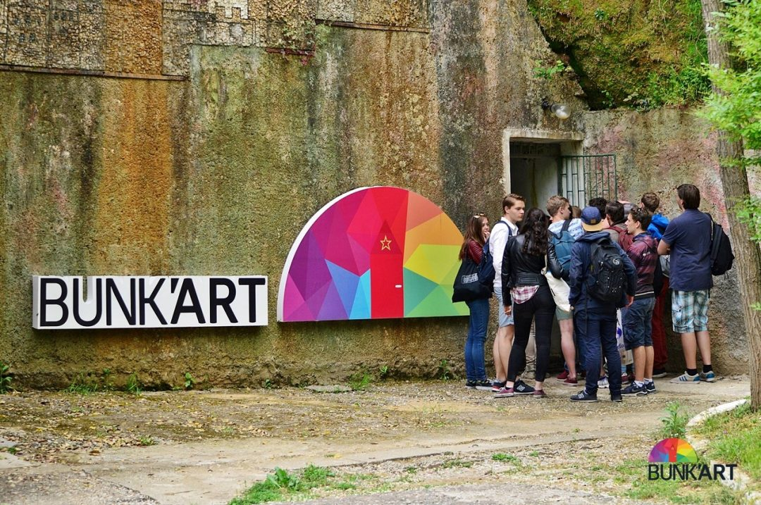 L'arte dentro al bunker: Bunk'Art