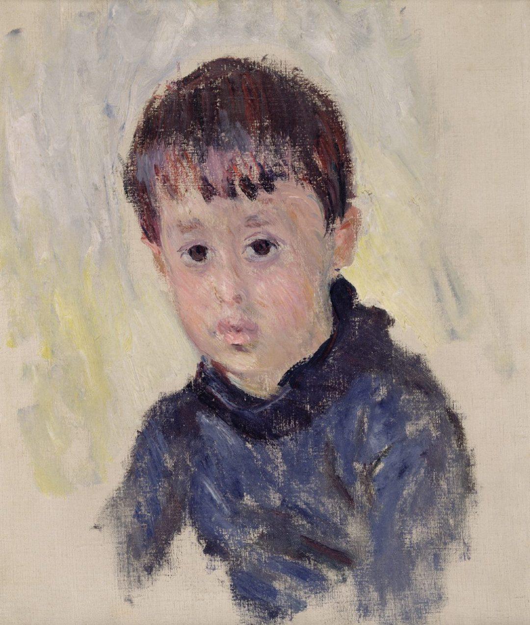 Michel Monet in maglione blu (1883)