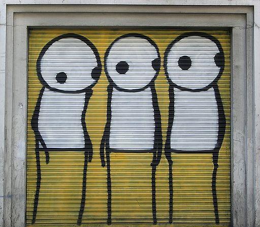 Stik, Curtain Road, Shoreditch, Londra