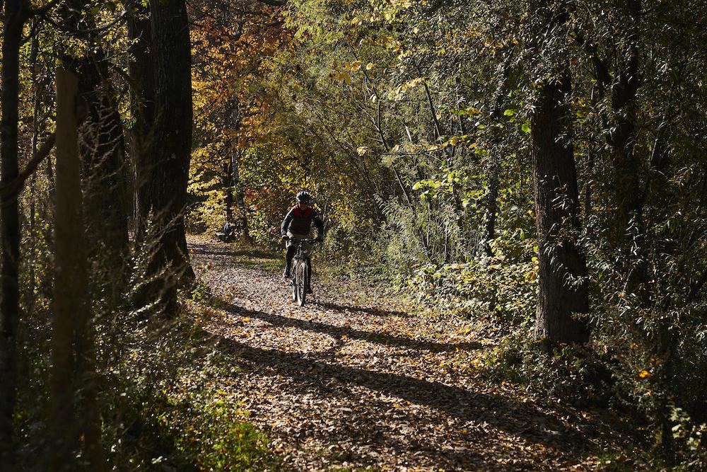 Pedalata in bici lungo il Passirio