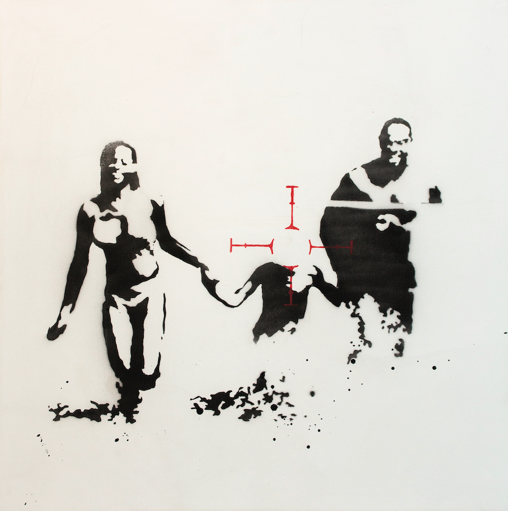 Family Target Banksy