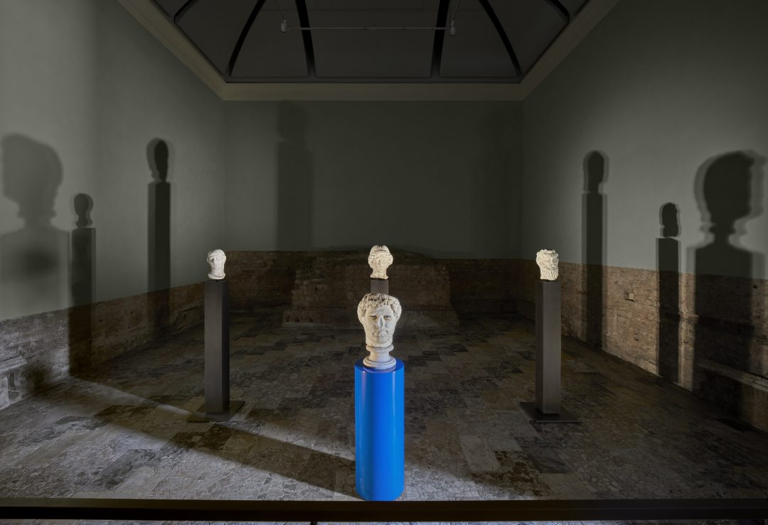 Francesco Vezzoli Palcoscenici Archeologici Brescia