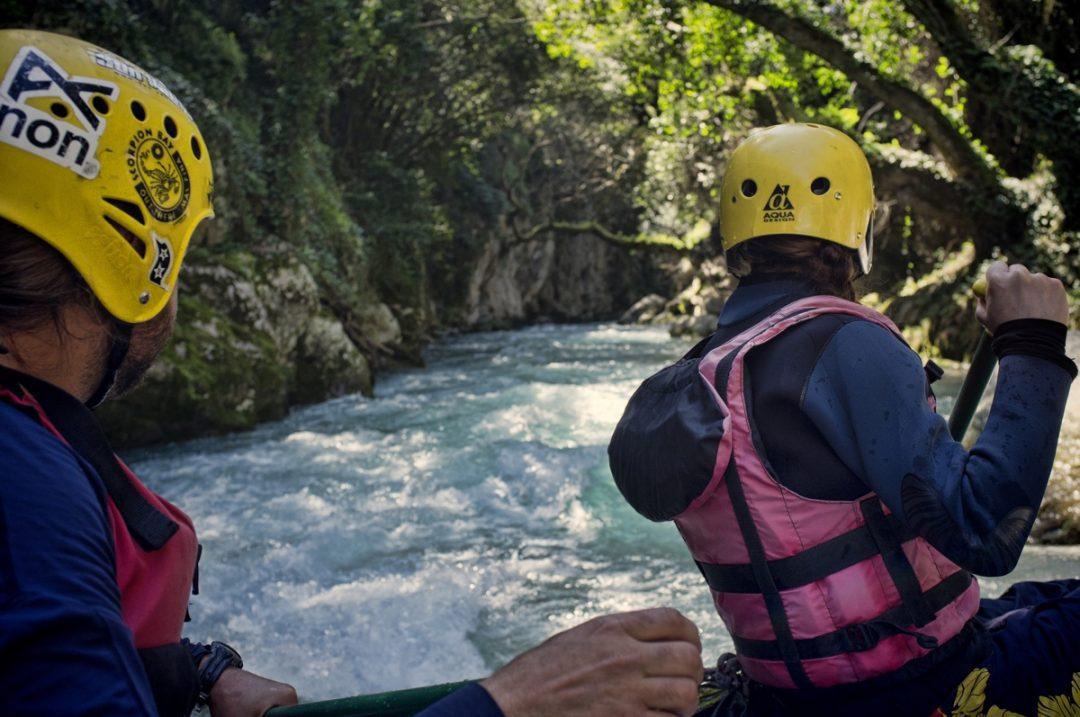 Acqua: rafting