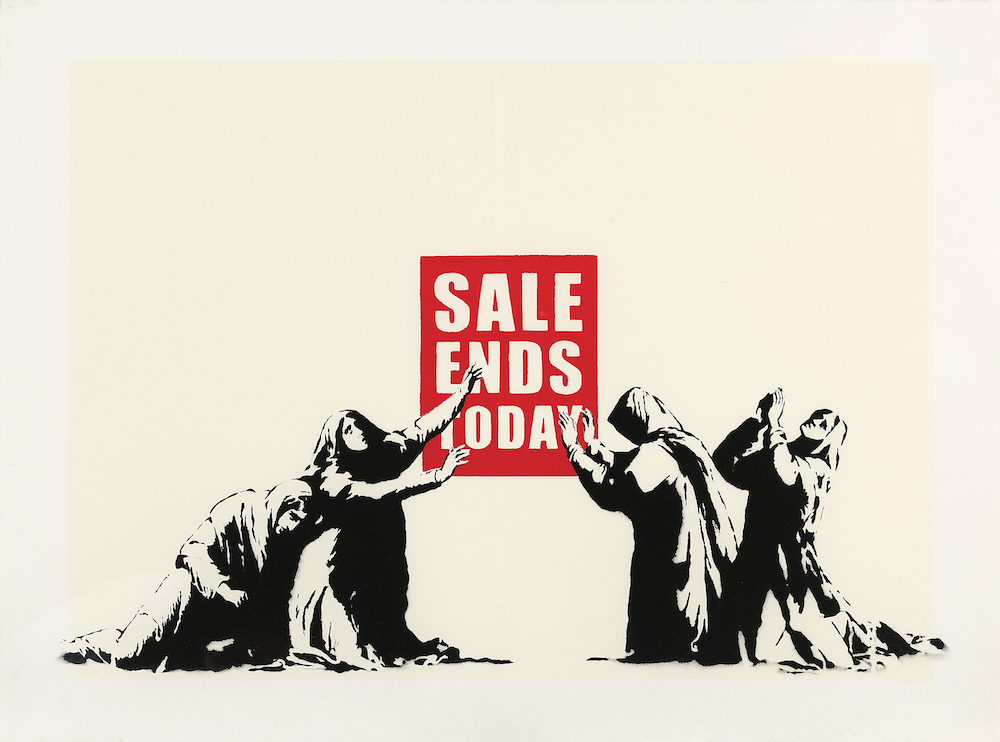 Sale Ends Today Banksy