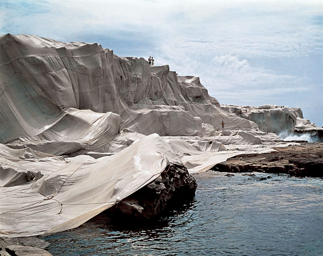 Christo and Jeanne-Claude, Wrapped Coast, One Million Square Feet,
