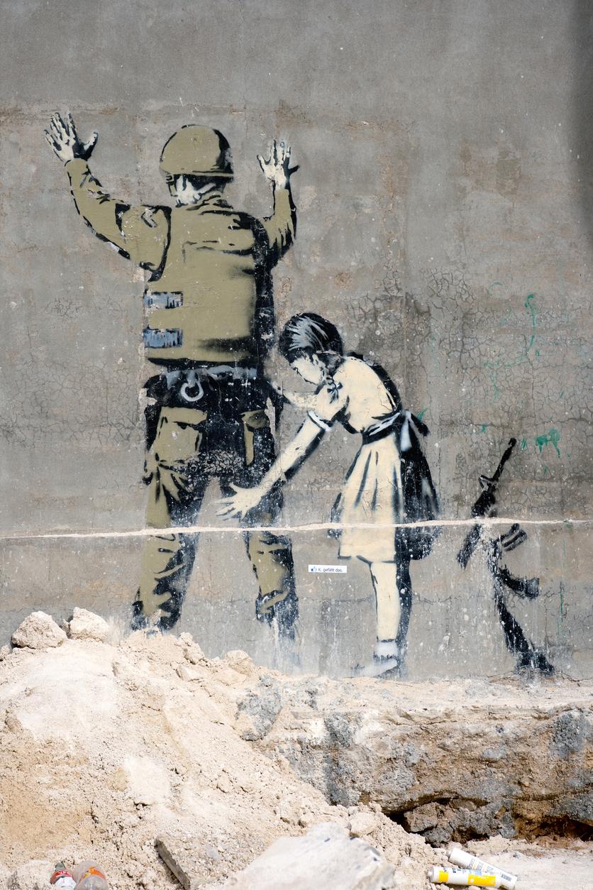 Banksy, Betlemme