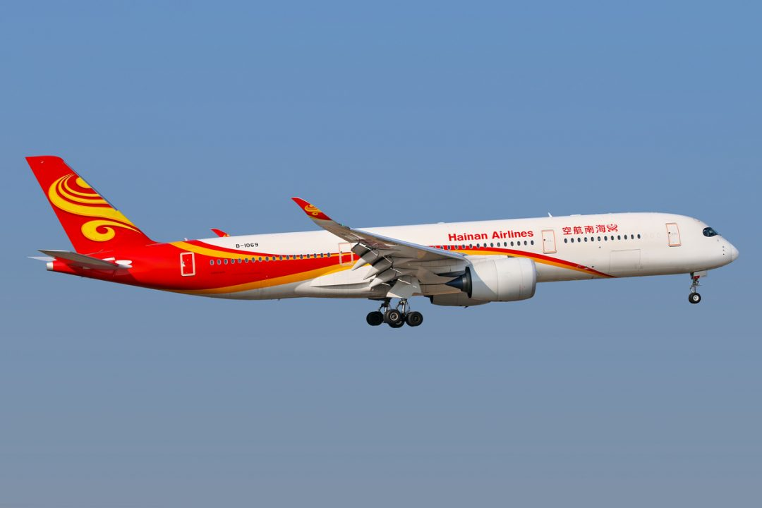 9° Hainan Airlines